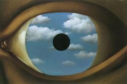 Il falso specchio – 1928 – olio su tela, 54 x 80,9 cm,
