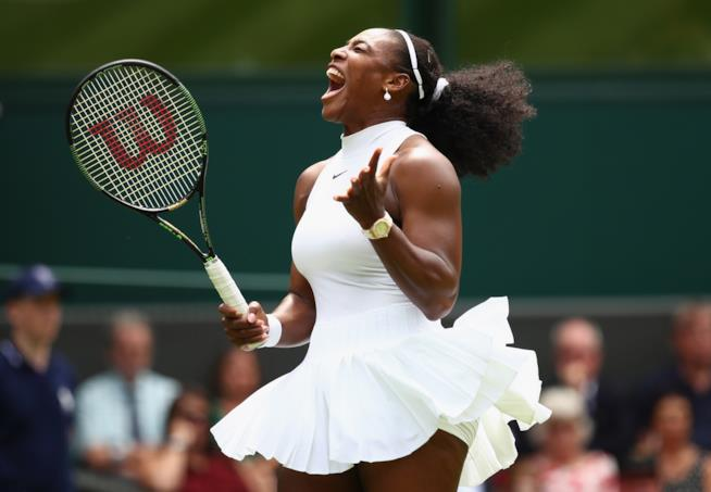 La tennista Serena Williams
