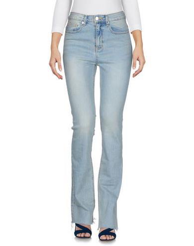 Pantaloni jeans a zampa
