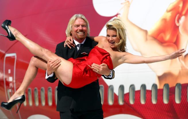 Kate Moss per una pubblicità Virgin