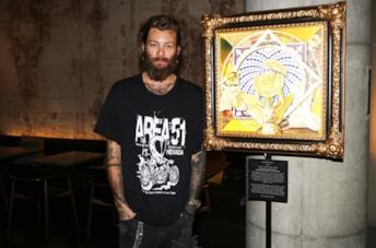 Andrea Marcaccini presenta le sue opere pop art