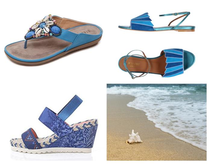 Sandali ispirati al mare di moda per l'estate 2018