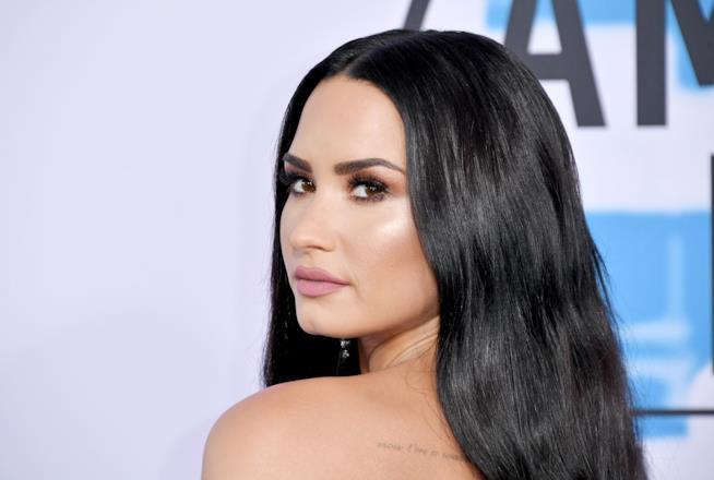 Demi Lovato in primo piano