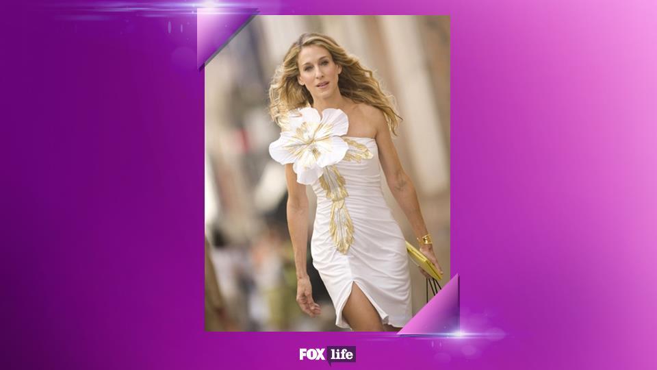 07. Non avere paura di infrangere i tabù della moda. In fondo, dove sta scritto che un abito bianco sia sinonimo di sposa?