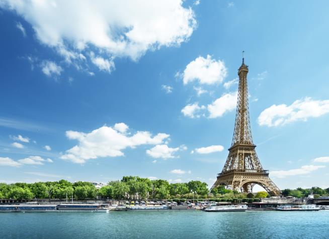 Parigi, Senna e Torre Eiffel