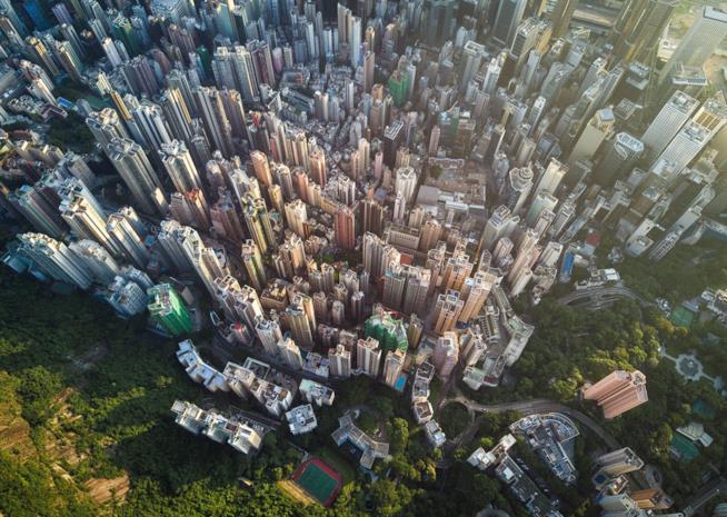 Grattacieli a Hong Kong