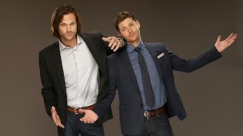 I due attori Jensen Ackles e Jared Padalecki.