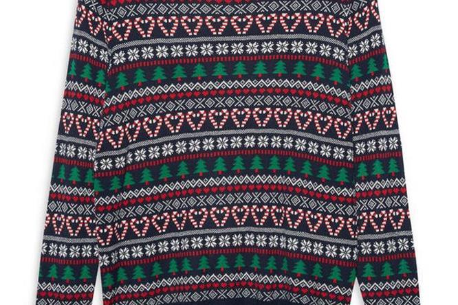 Un maglione natalizio a motivi nordici
