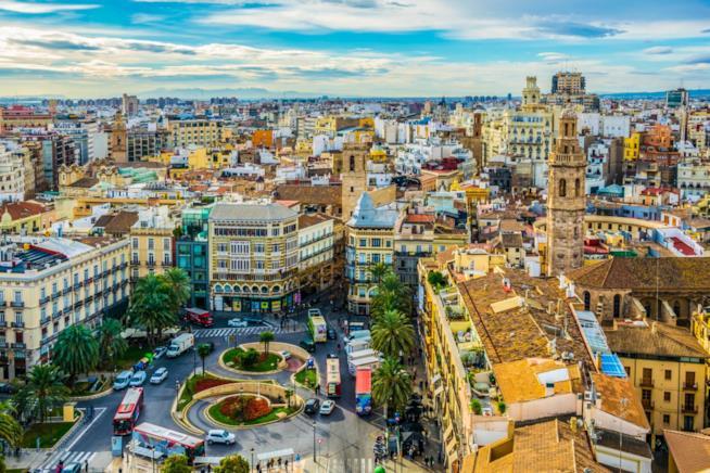 Veduta di Valencia