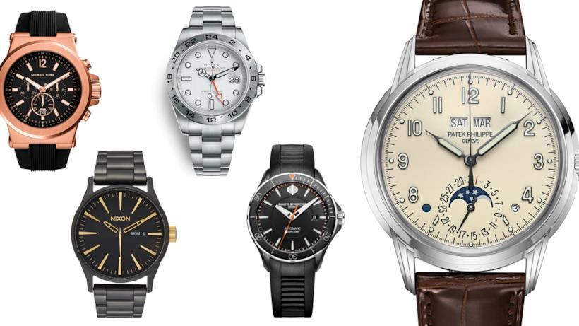 Gli orologi da uomo da regalare a Natale