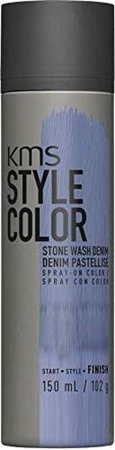 KMS Style Color Stone Wash Denim Lavender - Tinta spray temporanea