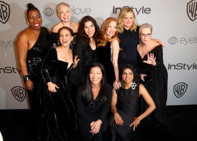 Le protagoniste dei Golden Globes 2018