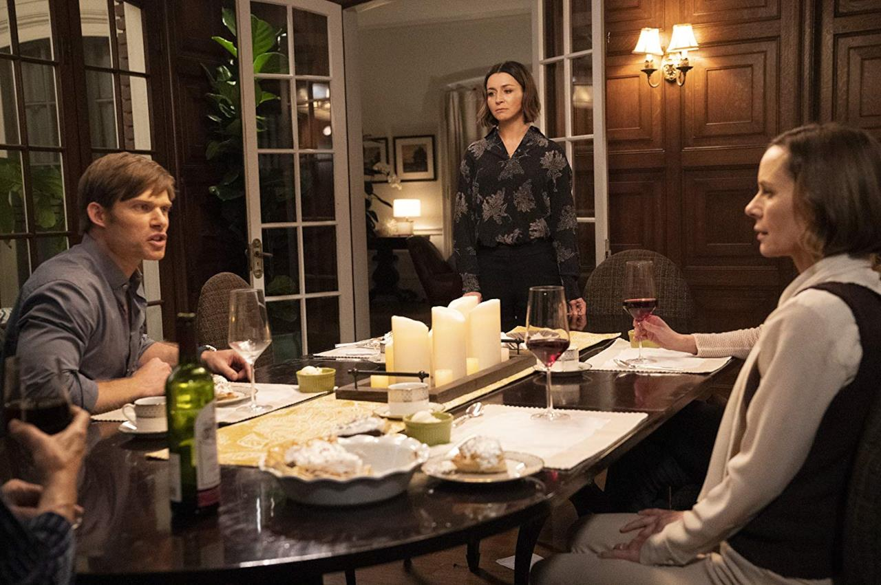 Una scena dall'episodio Amelia-centrico di Grey's Anatomy con Link, Amelia e Nancy