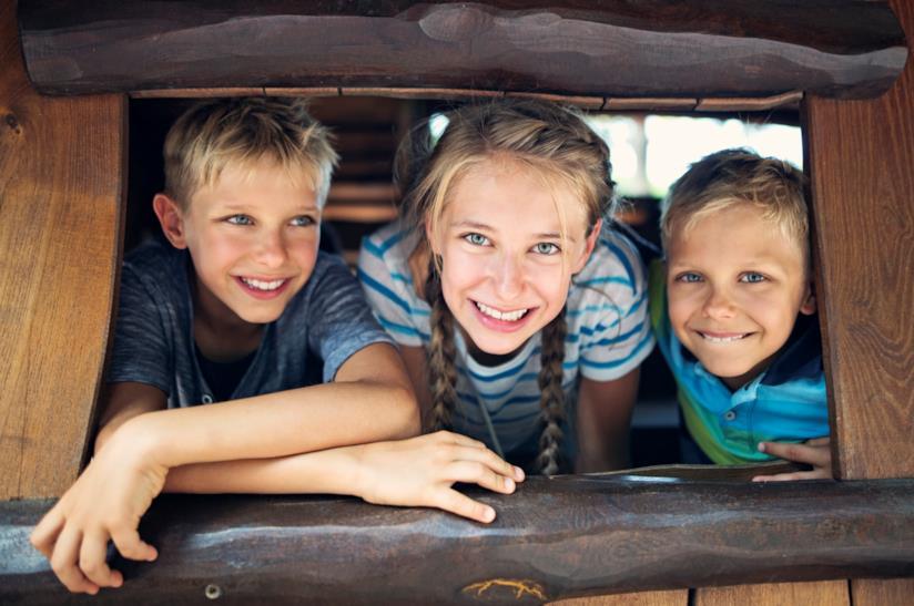 Bambini in campeggio
