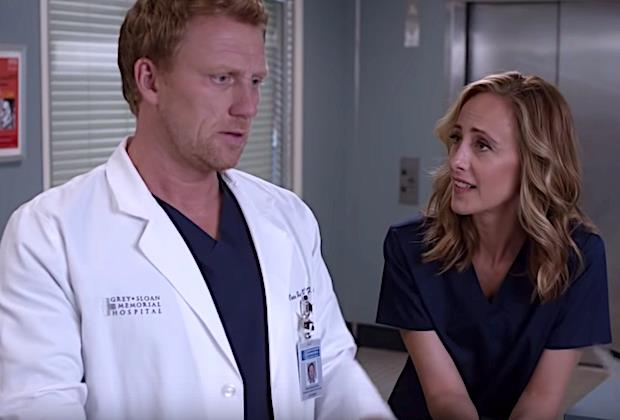Teddy e Owen Grey's Anatomy