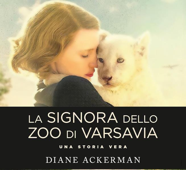 Il libro da cui è tratto il film La signora dello zoo di Varsavia
