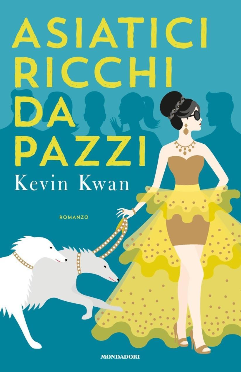 La copertina del libro Crazy Rich Asians