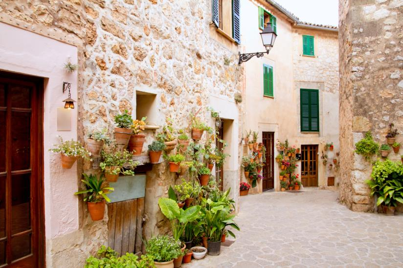 Città e villaggi a Maiorca