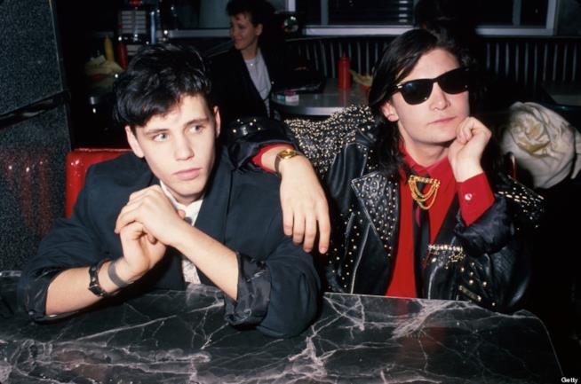Corey Haim e Corey Feldman nel 1989