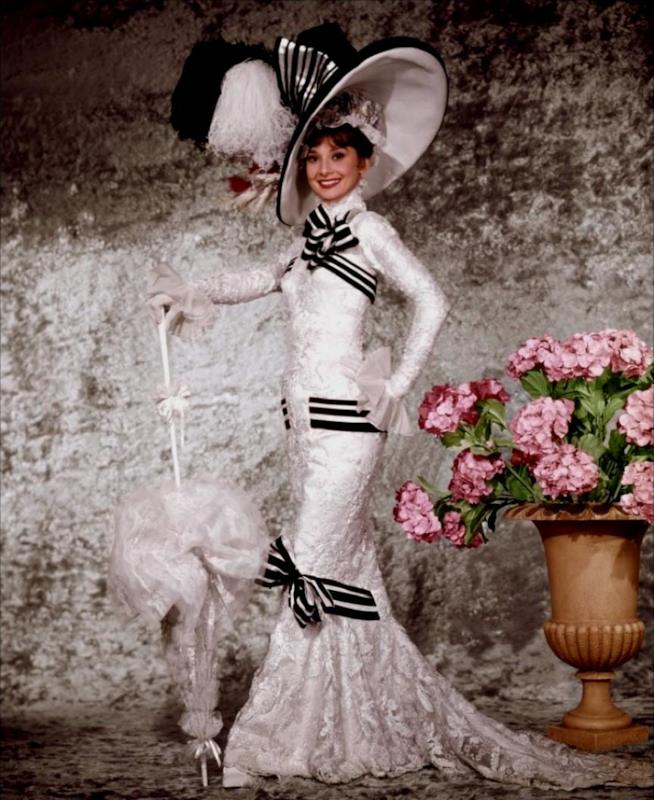 Audrey Hepburn e l'abito di My Fair Lady