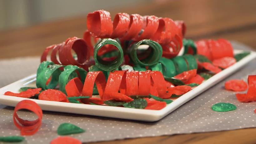 Un piatto di dolcissimi coriandoli e stelle filanti