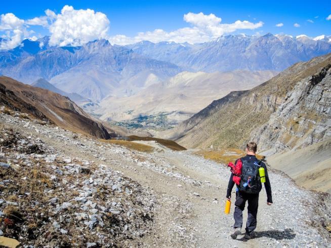 Trekking nell'Himalaya in Nepal