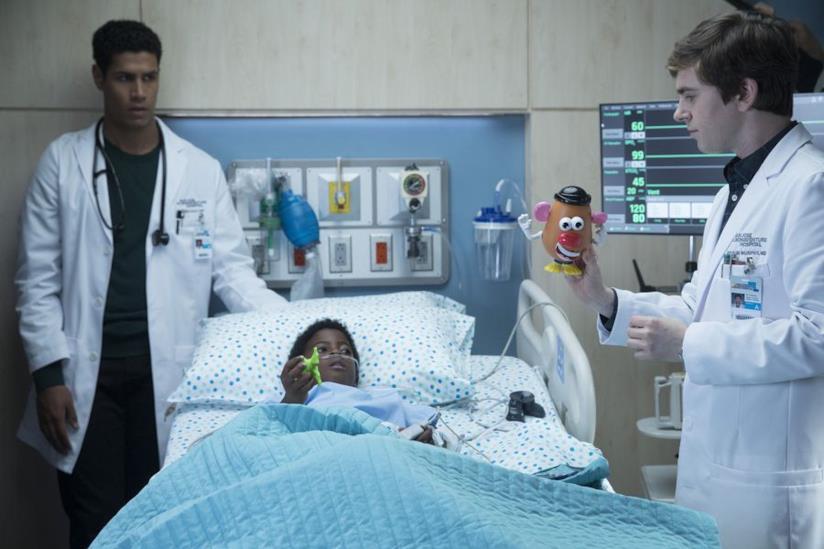 Un'immagine dalla prima stagione di The Good Doctor