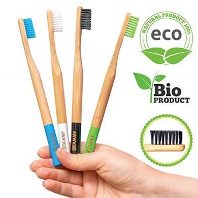 Spazzolino da denti bamboo