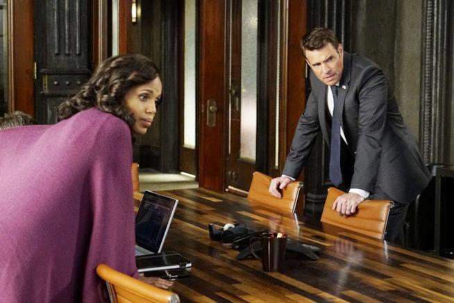Olivia Pope e Jake Ballard in una scena di Scandal 6