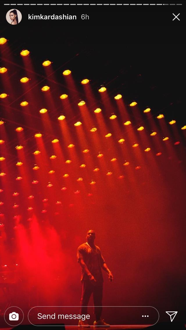 Kanye West sul palco