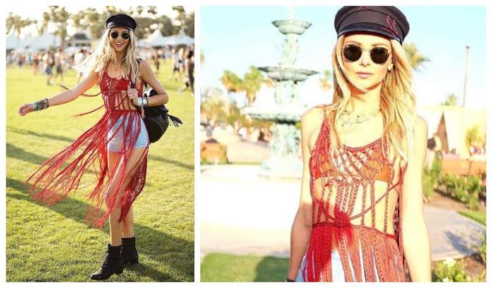 e1465998524c Ludi Delfino, Instagram Top con le frange di moda per l'estate 2018
