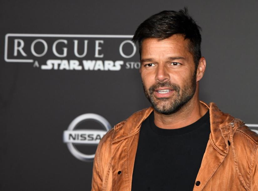 Primo piano di Ricky Martin