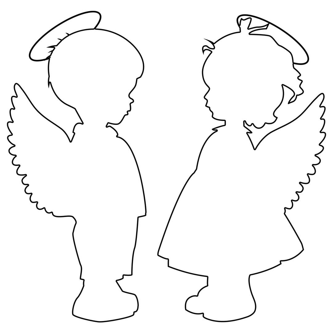 angelo sagome per lavoretti in