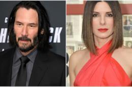 Keanu Reeves e Sandra Bullock