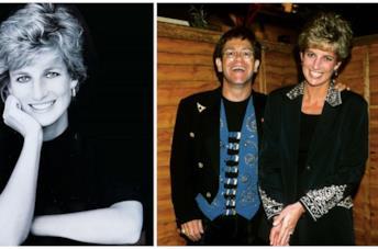 Elton John e la Principessa Diana