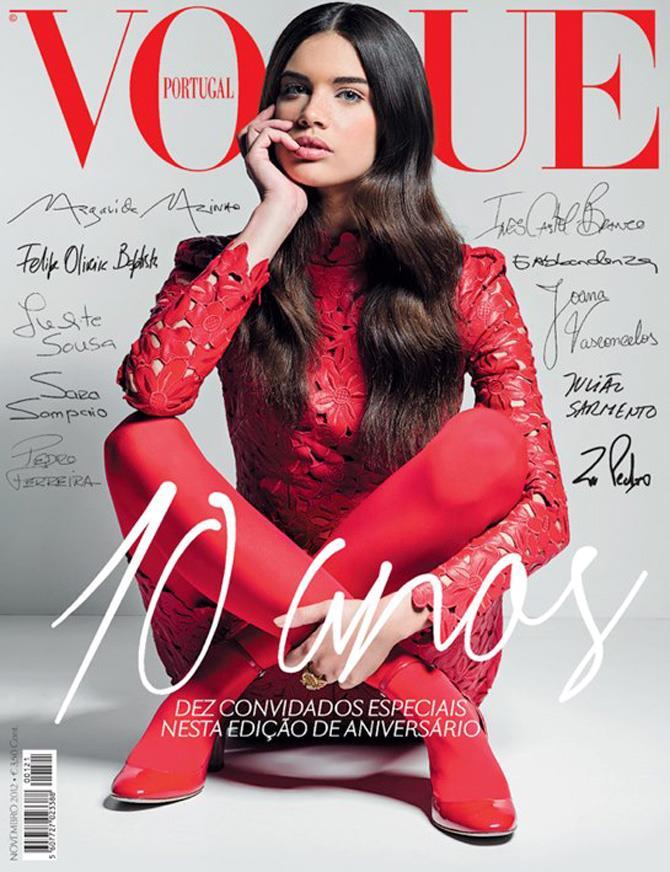 Sara Sampaio su Vogue Portogallo