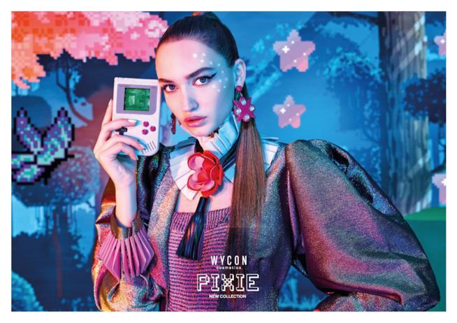 L'immagine di campagna della Pixie Collection Wycon per la Primavera 2018