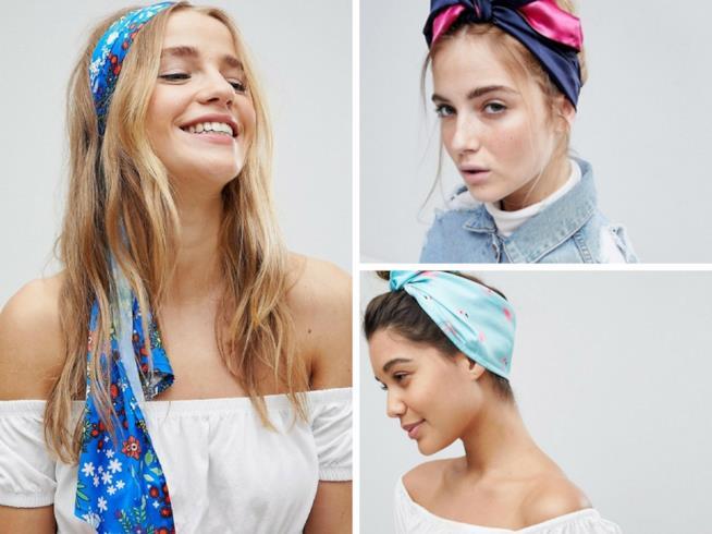 Come indossare le bandane per capelli