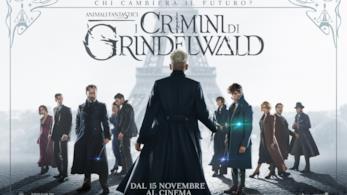 Animali fantastici: I Crimini di Grindelwald, poster
