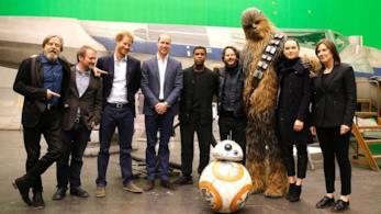 William e Harry e il cameo tagliato da Star Wars: Gli Ultimi Jedi