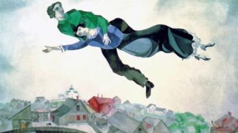 Sulla città di Chagall