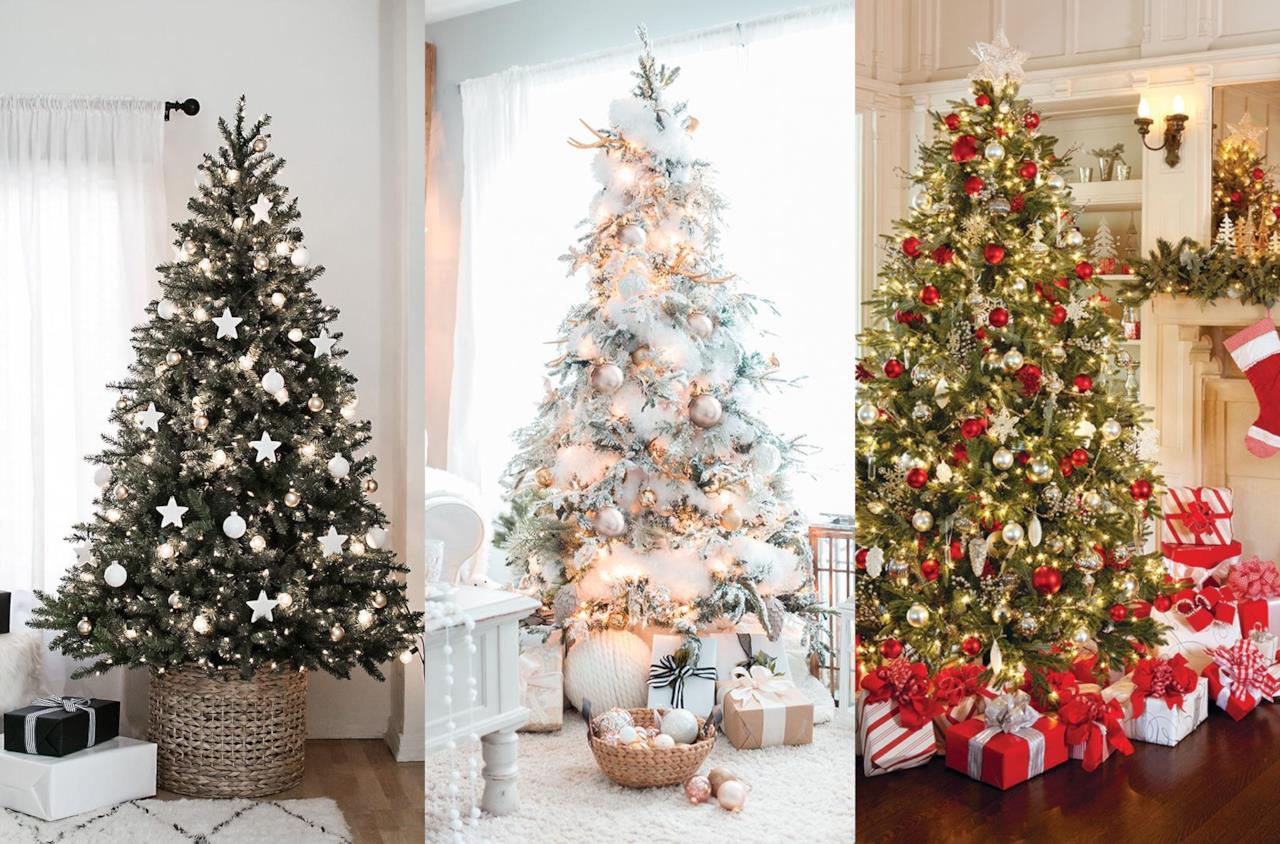 Alberi Di Natale Addobbati Eleganti.Come Addobbare L Albero Di Natale
