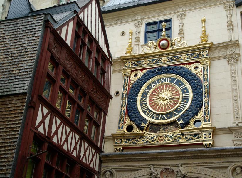 L'orologio astronomico di Rouen