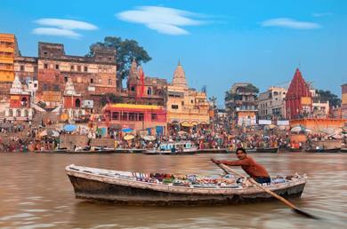 Triangolo d'Oro con Khajuraho e Varanasi