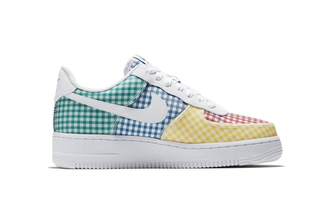 Nike Air Force con trama a quadretti Multi-color
