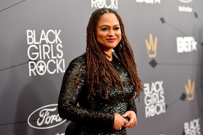 Ava DuVarney, sceneggiatrice e regista, all'evento Black Girls Rock!