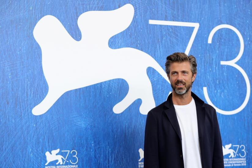Kim Rossi Stuart al Festival di Venezia per presentare il film Tommaso