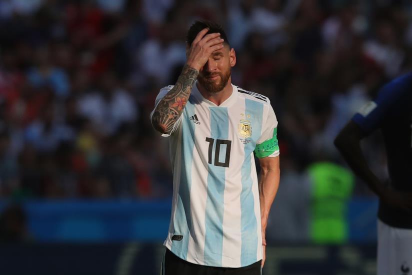 Il calciatore Leo Messi
