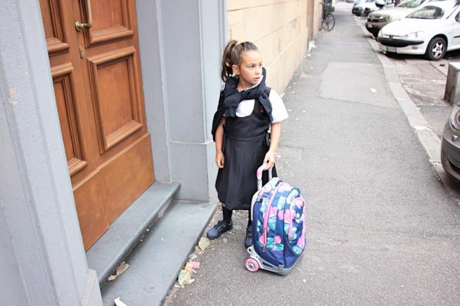 la divisa scolastica e come indossarla