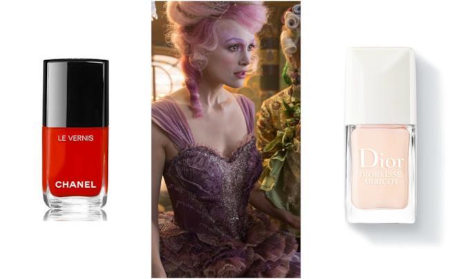 Smalto rosso Chanel e rosa Dior